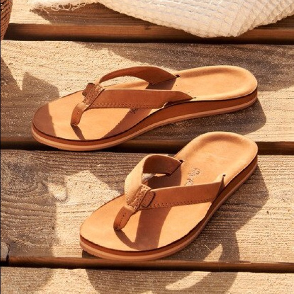 Roxy Lorraine Leather Sandals